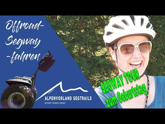 Segway Touren in den Bergen - Segway Tour zum Geburtstag an der Südsteirischen Weinstrasse