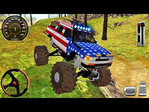 Offroad Outlaws Jeep Driver Simulator - 4x4 SUV Mud-Pit Truck Driving - Android Gameplay
