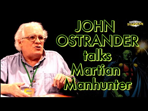 John Ostrander talks Martian Manhunter & Hawkworld | COMIC BOOK SYNDICATE