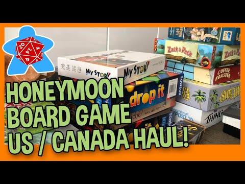 Post Honeymoon Update & Game Haul