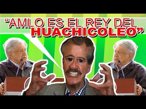 VICENTE FOX DECLARA QUE AMLO ES EL REY DEL HUACHICOL