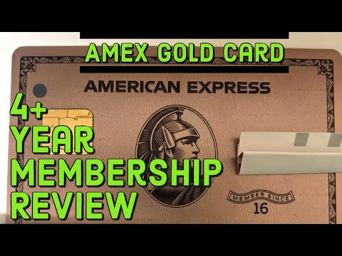 Amex Gold Card 4+ Year Review   American Express Benefits, Rewards Points, Etc.   Worth It?