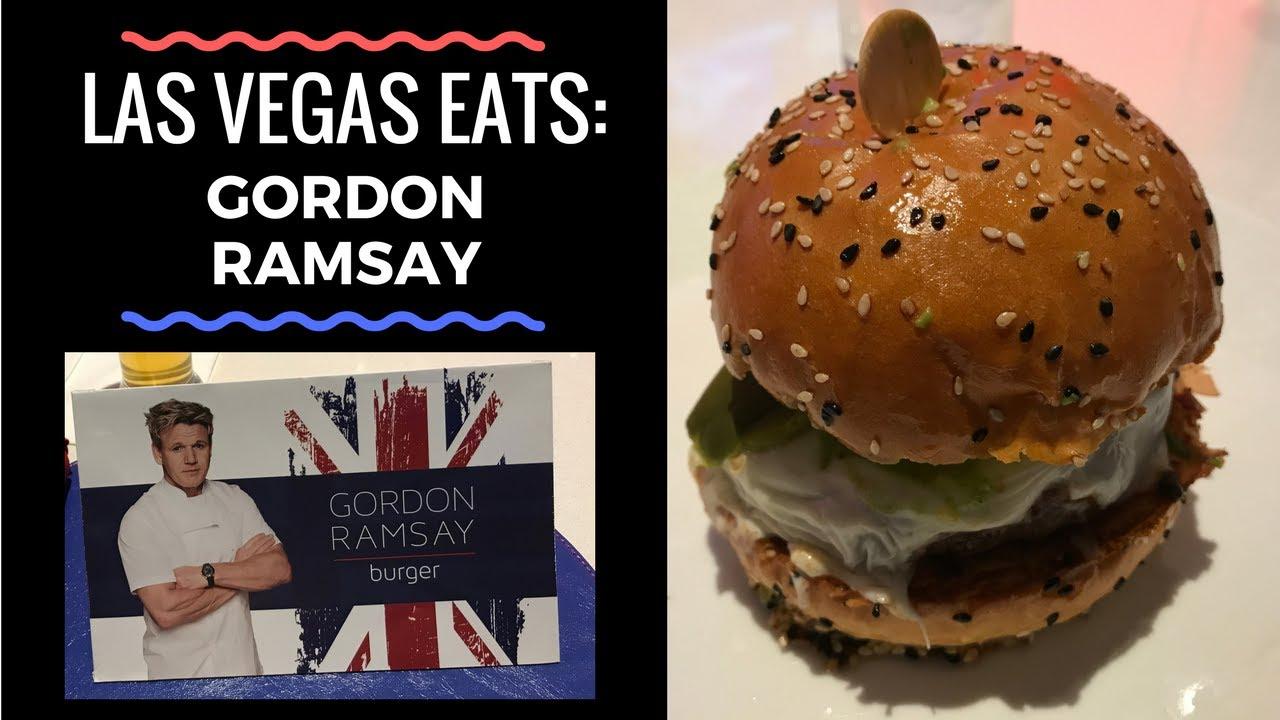 Las vegas eats gordon ramsay burger and fish chips for Gordon ramsay las vegas fish and chips