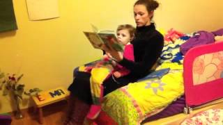 Do sit ups while you read to your child!