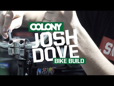 Josh Dove recently built up a fresh Colony Sweet Tooth frame stacked around some of our finest parts. Parts list is as follows: Frame: Colony Sweet Tooth 20.7