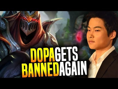 Dopa Destroying Low Elo Players Again and Gets Banned! - Dopa Playing Zed Mid! | Dopa SoloQ GOD