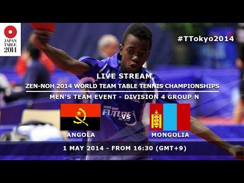 #TTokyo2014: Angola - Monglia