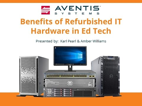 Benefits of Refurb Hardware in Education Technology
