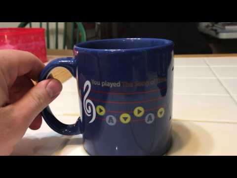 The Legend of Zelda Ocarina of Time Color Changing singing Mug