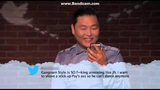 Psy reads mean tweet