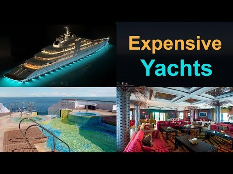 Top 10 Most Expensive Luxury Yachts In The World !