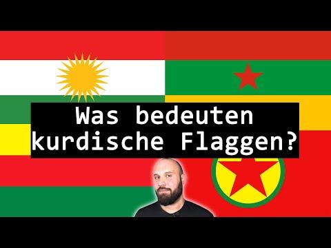 Was bedeuten die verschiedenen kurdischen Flaggen?