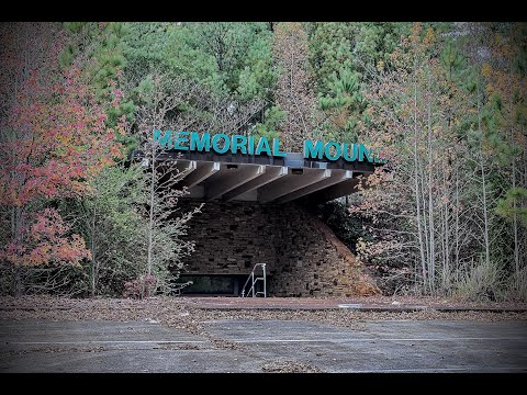 Abandoned Memorial Mound (We Found Used Coffins Inside)