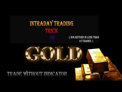 GOLD TRADING STRATEGY   TRADE LIKE A PRO   30% return in less than 10 trades