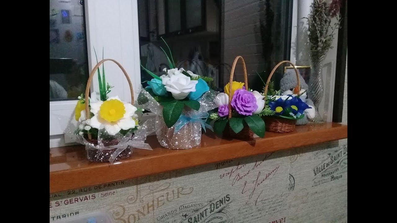 Цветы из мыла своими руками фото фото 228