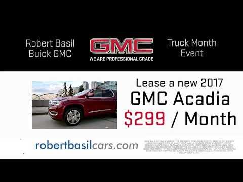 Robert Basil Truck Month October 2017 - GMC