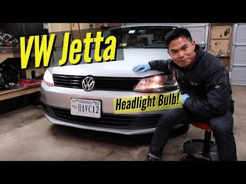 HOW TO: VW Jetta Headlight Bulb Replacement
