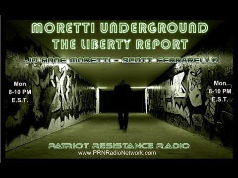 The Moretti Underground Show - ( April 13th )