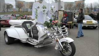 Самые редкие свадебные автомобили Киева