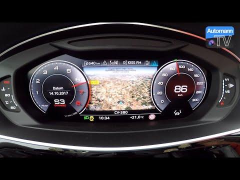 2018 Audi A8 55 TFSI - 0-100 km/h acceleration (60FPS)