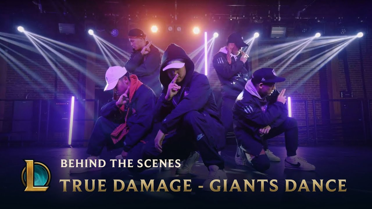 True Damage – GIANTS Dance – Behind the Scenes | League of Legends