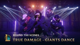True Damage - GIANTS Dance - Behind the Scenes | League of Legends