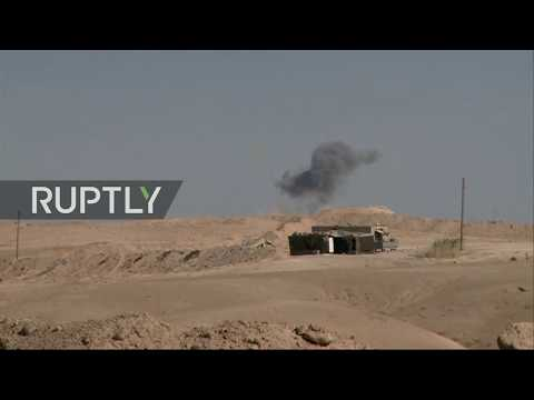 LIVE from outskirts of Syria's Deir ez-Zor after IS siege broken - PART 1