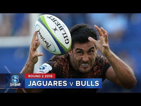 HIGHLIGHTS: 2019 Super Rugby Round 2 Jaguares v Bulls