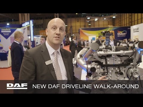 DAF Trucks UK | New driveline walk-around with Keith McLoughlin | 2017 CV Show