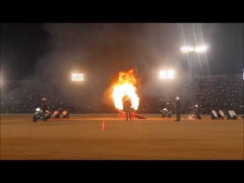 Torch Light Parade Mysuru Dasara.