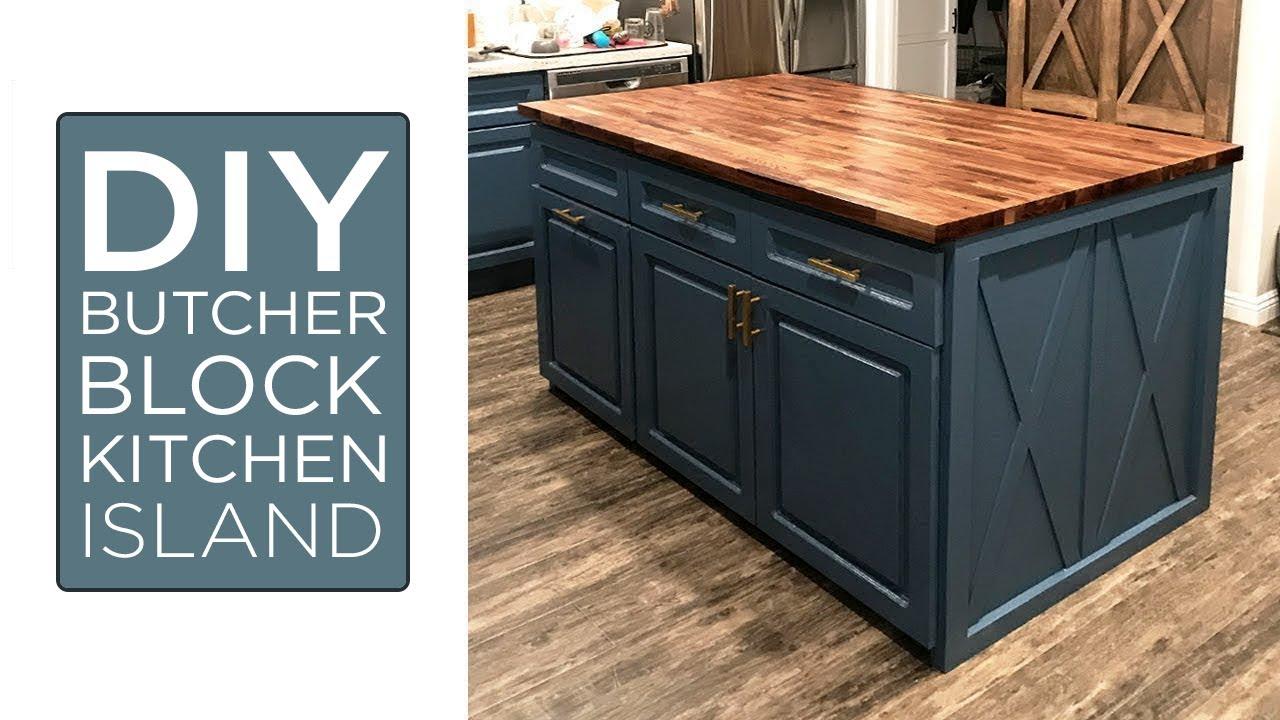 building my kitchen island | 30 - youtube
