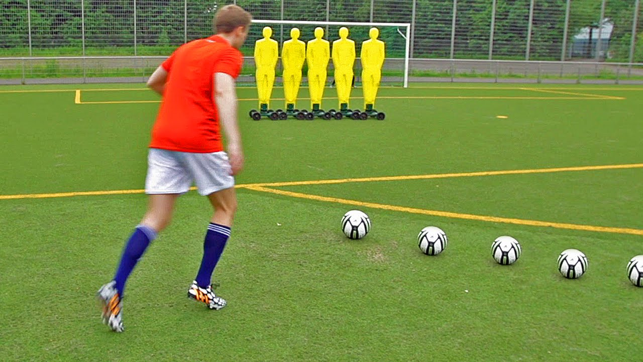 the football free kick battle 2014 freekickerz vs