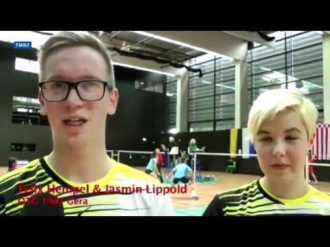 Goldhoffnungen zu den Badminton-Jugendmeisterschaften 2016