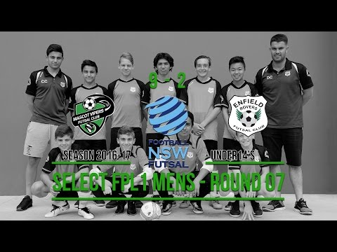 Rd07: Futsal Season 2016-17 -  Mascot Vipers vs. Enfield Rovers FC