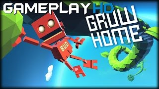 Grow Home Gameplay (PC HD) [1080p/60Fps]