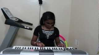ALLIYAMBAL KADAVIL (Film - ROSI, P. Bhaskaran, Yesudas) On Keyboard By Vany Vinayakumar