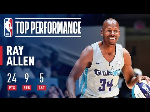 Ray Allen Puts On Vintage Performance In 2019 Celebrity Game   2019 NBA All-Star