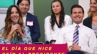 EL DÍA QUE HICE REÍR AL PRESIDENTE - SOFÍA NIÑO DE RIVERA