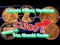 Lincoln Penny Varieties You should Know Ep.22 - 1999, 1938, 1944 and How Much They May Be Worth