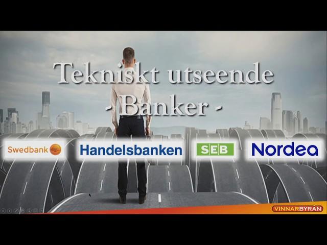 Trading Direkt 2020-06-09: TEKNISK ANALYS - BANKERNA SLÄPAR EFTER INDEX