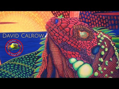Part 1 - Fine Art Tips with a Free Acrylic and Watercolour Art Lessons with David Calrow on CIYL