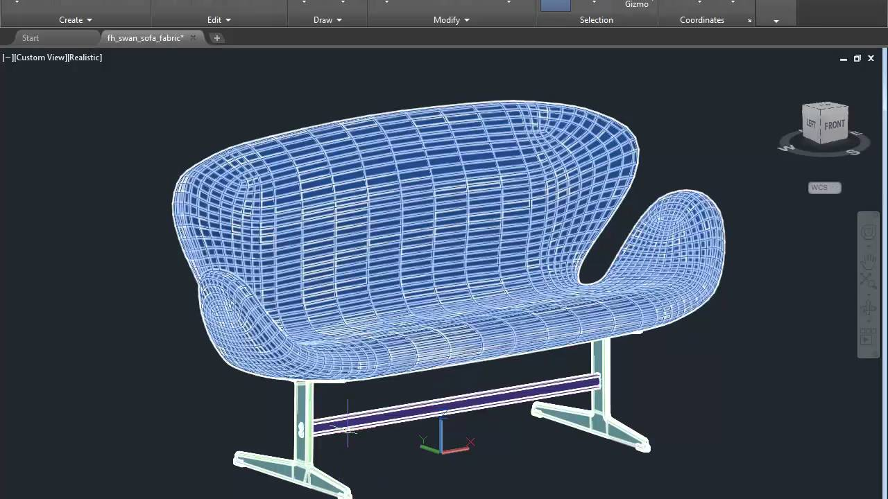 HarringtonSt 11 Importing 3D Downloaded Furniture into Revit
