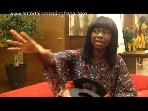 EG Live interview with Ama K  Abebrese @ Ghana Fashion Week