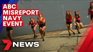 ABC TV misreports the commissioning of the Royal Australian Navy's newest ship HMAS Supply   7NEWS