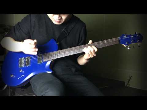 Broken Valentine - 'Intro : Trust' played by Jihwan (with Relish 'Marine W Mary' guitar)