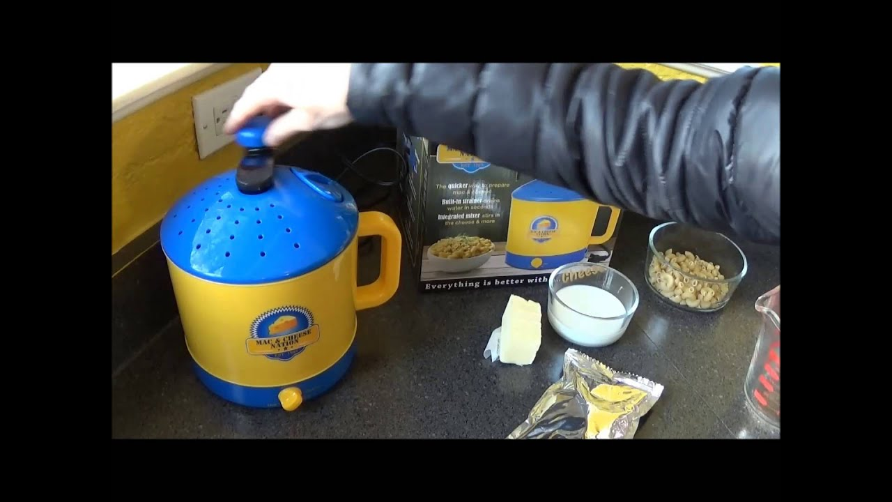 Smart Planet Mac And Cheese Maker Review Youtube