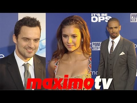 "Jake Johnson, Nina Dobrev, Damon Wayans Jr. ""Let's Be Cops"" Los Angeles Premiere"