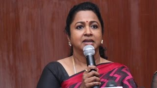 Radika Sarathkumar explains about how the rivalry started in Nadigar Sangam