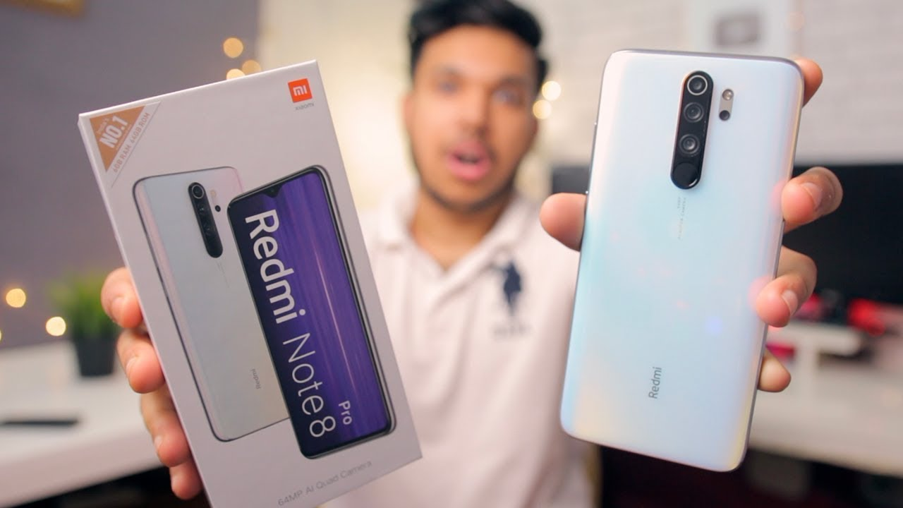 Redmi Note 8 Pro 6gb 64gb Halo White Unboxing Overview From Mi Store Youtube