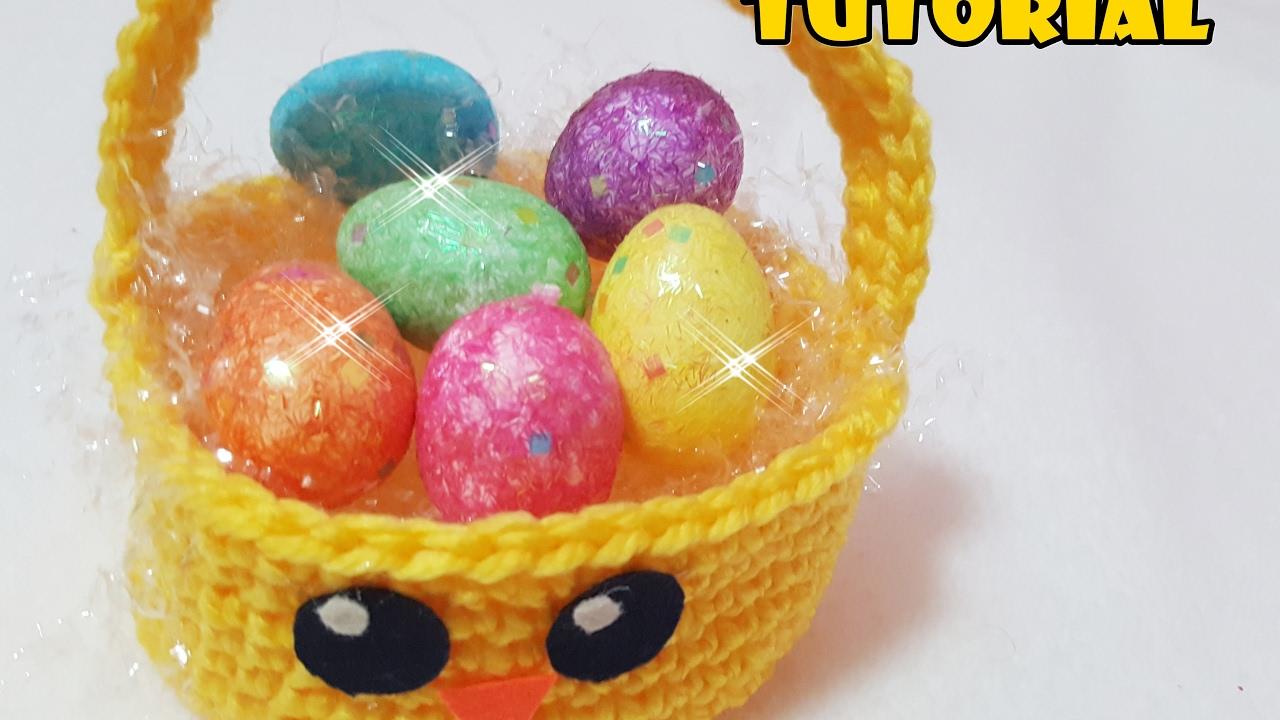 Diy Tutorial Di Pasqua Cestino Pulcino Portauova Alluncinetto